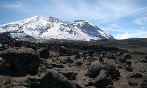 Machame route on Kili