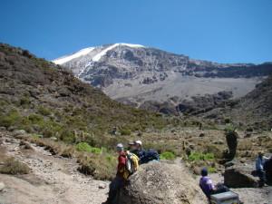 Climbing Kilimanjaro Machame - photo by client Damien Chung