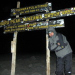 Mt Kilimanjaro Summit - photo courtesy client Alex Zagrean