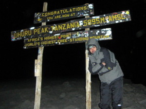 Mt Kilimanjaro Summit - photo courtesy client Alex Zagrean