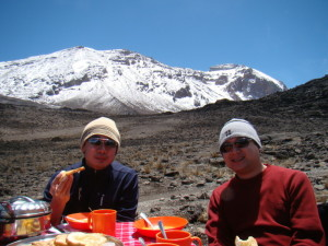 Kilimanjaro Machame Route - photo by client Damien Chung