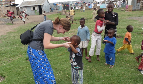 working in africa orphanage