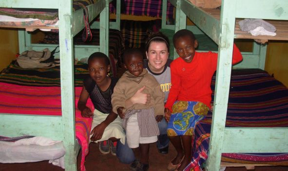 Kenya volunteer