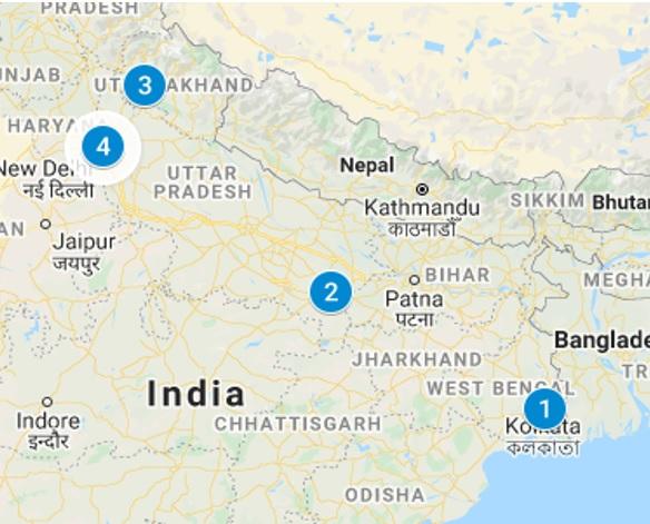 spiritual and yoga tour India