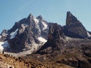 Mt Kenya trek